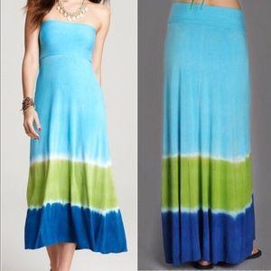 Lucky Brand Tie Dye Tube Skirt/Dress Swim Coverup